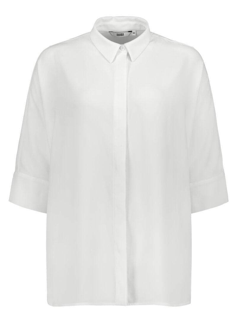Uhana - Daze Collar Shirt, Ivory