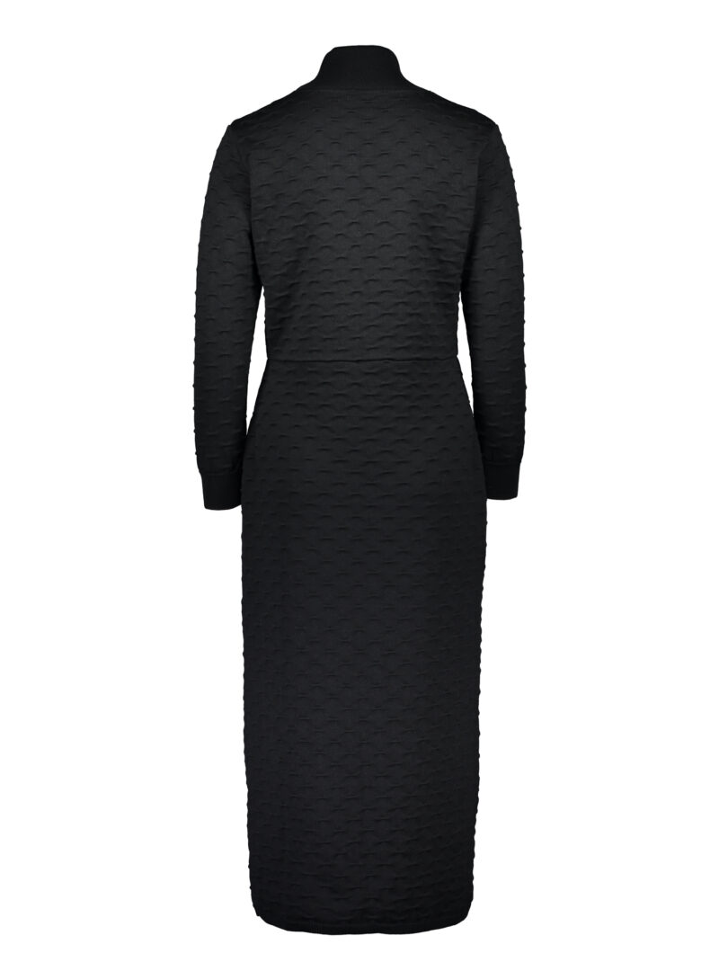Uhana - Mirage Polo Knit Dress, Black