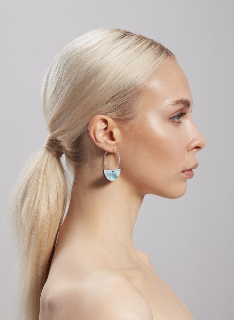 Uhana - Chrysalis Earrings, Green