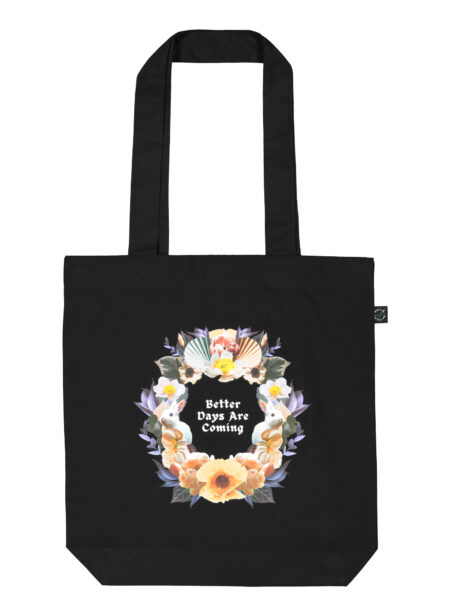 Uhana - Better Days Tote Bag, Black