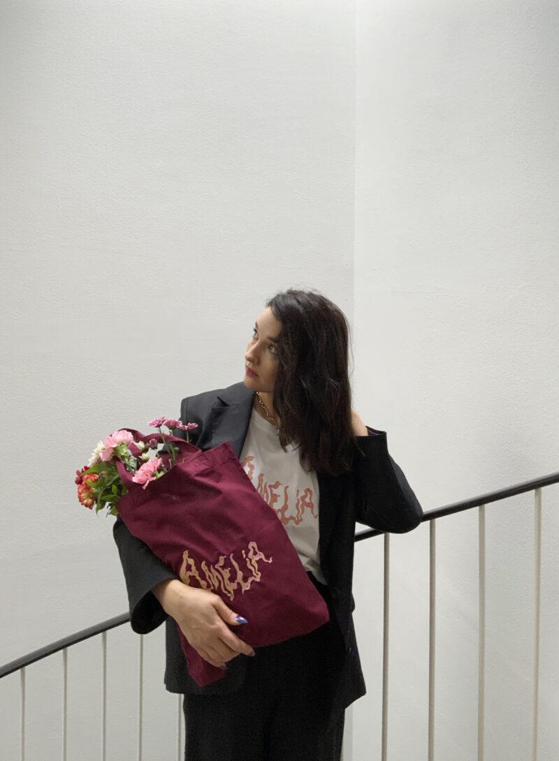 Iisa x Minni Havas x Uhana - Amelia T-Shirt and Tote Bag
