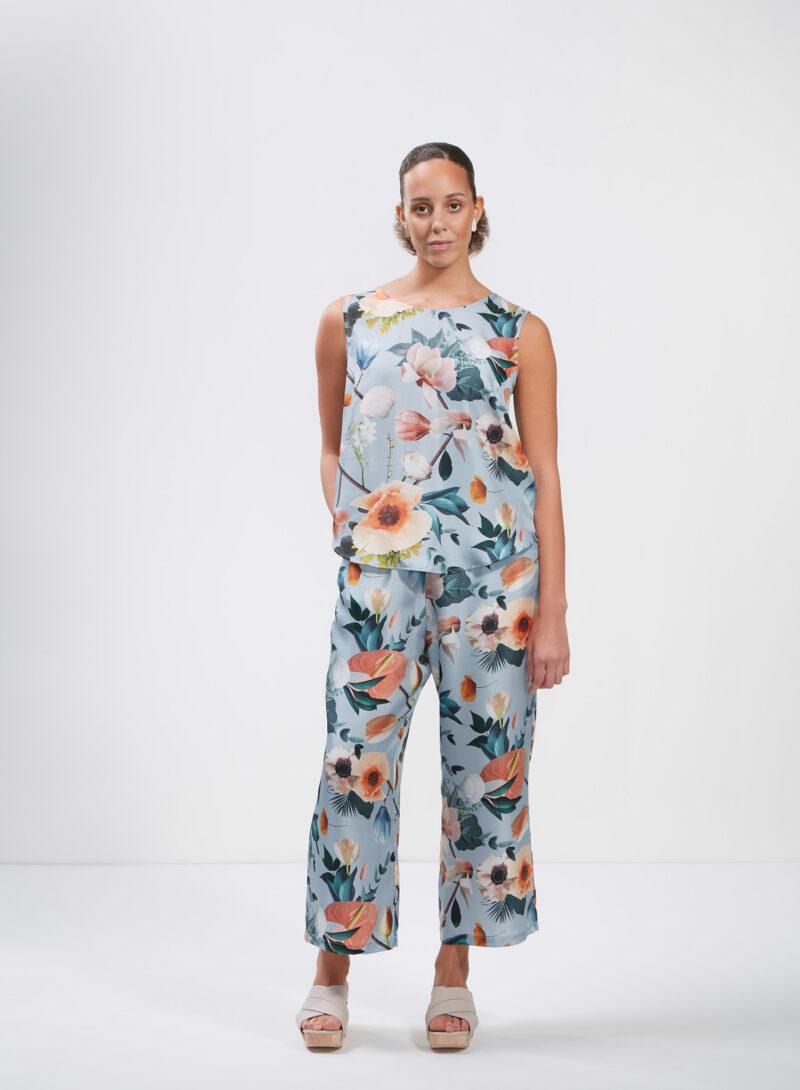 Uhana - Breeze Top & Serene Pants, Better Days Light Blue