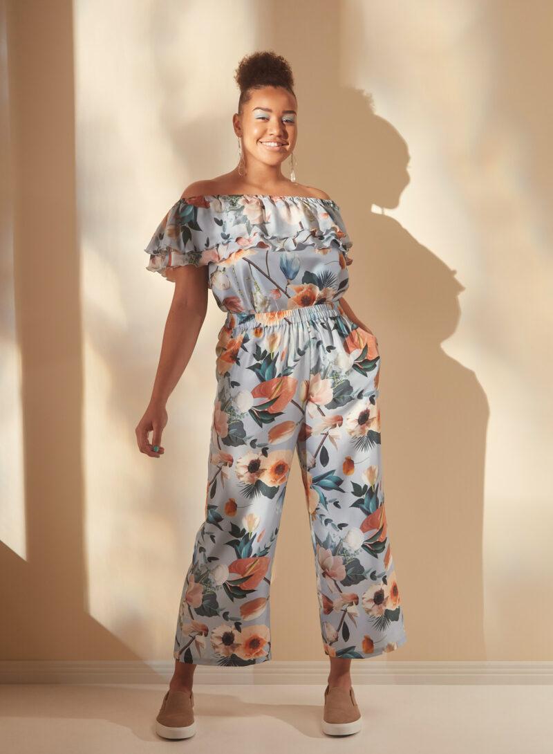 Uhana - Fluid Top & Serene Pants, Better Days Light Blue