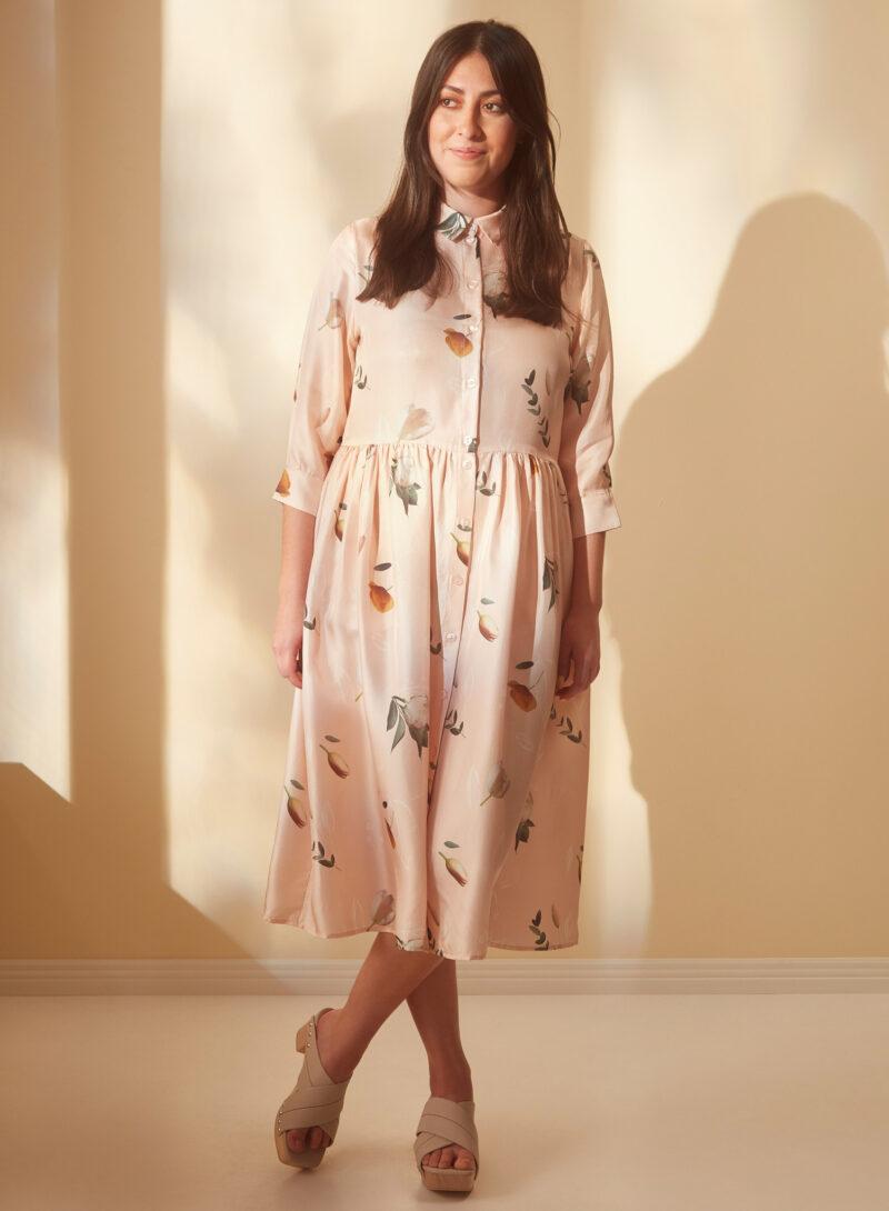 Uhana - Sincere Dress, Summer Wind Champagne