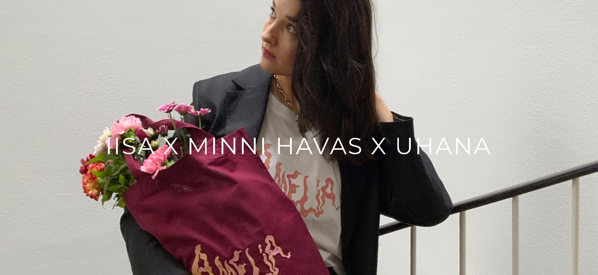 IISA X MINNI HAVAS X UHANA: Amelia-minimallisto