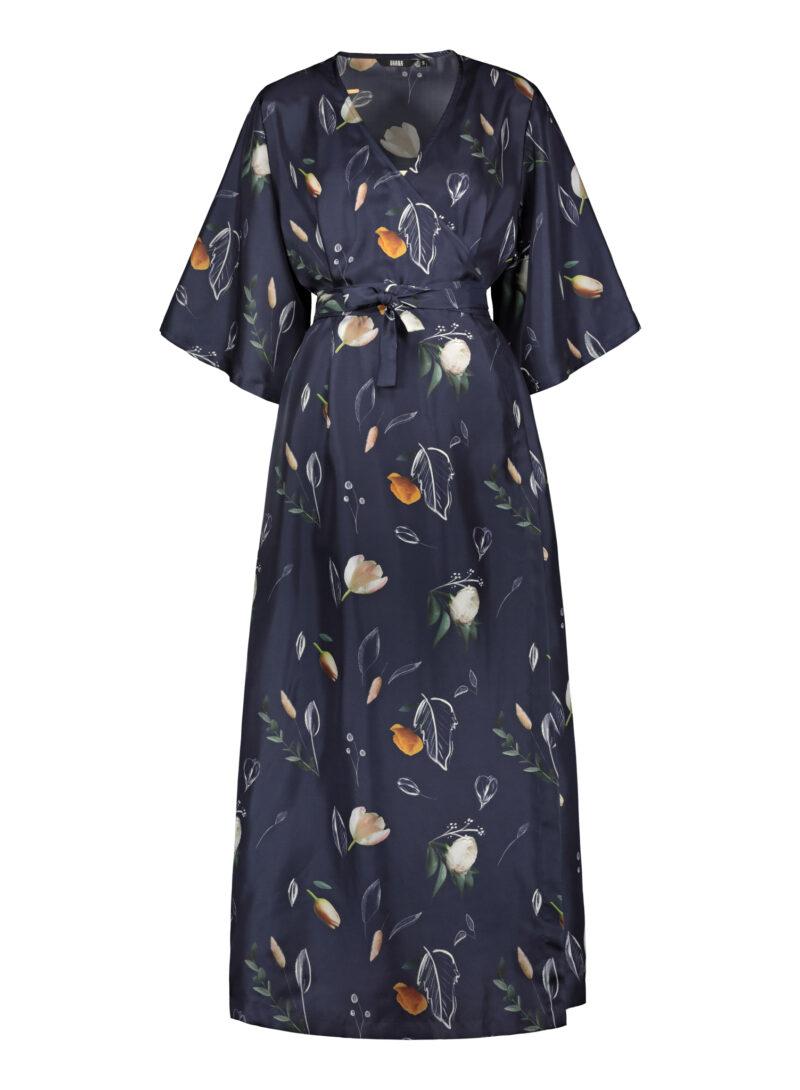 Uhana - Compassionate Wrap Dress, Summer Wind Dark Blue