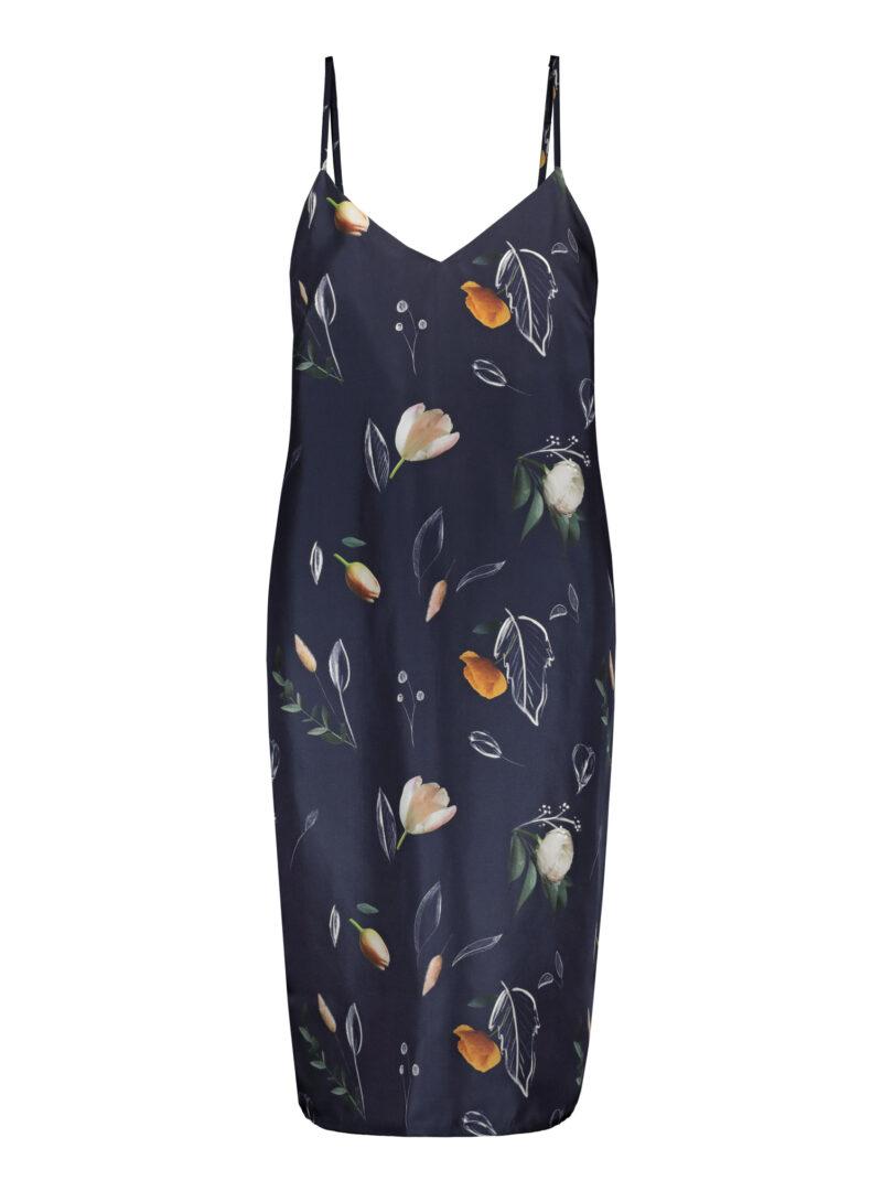 Uhana - Ease Dress, Summer Wind Dark Blue