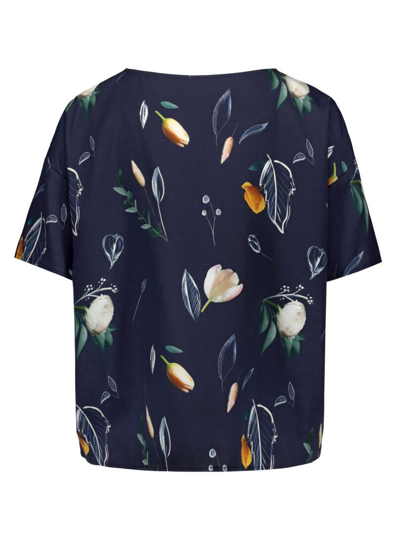 Uhana - Braver Shirt, Summer Wind Dark Blue