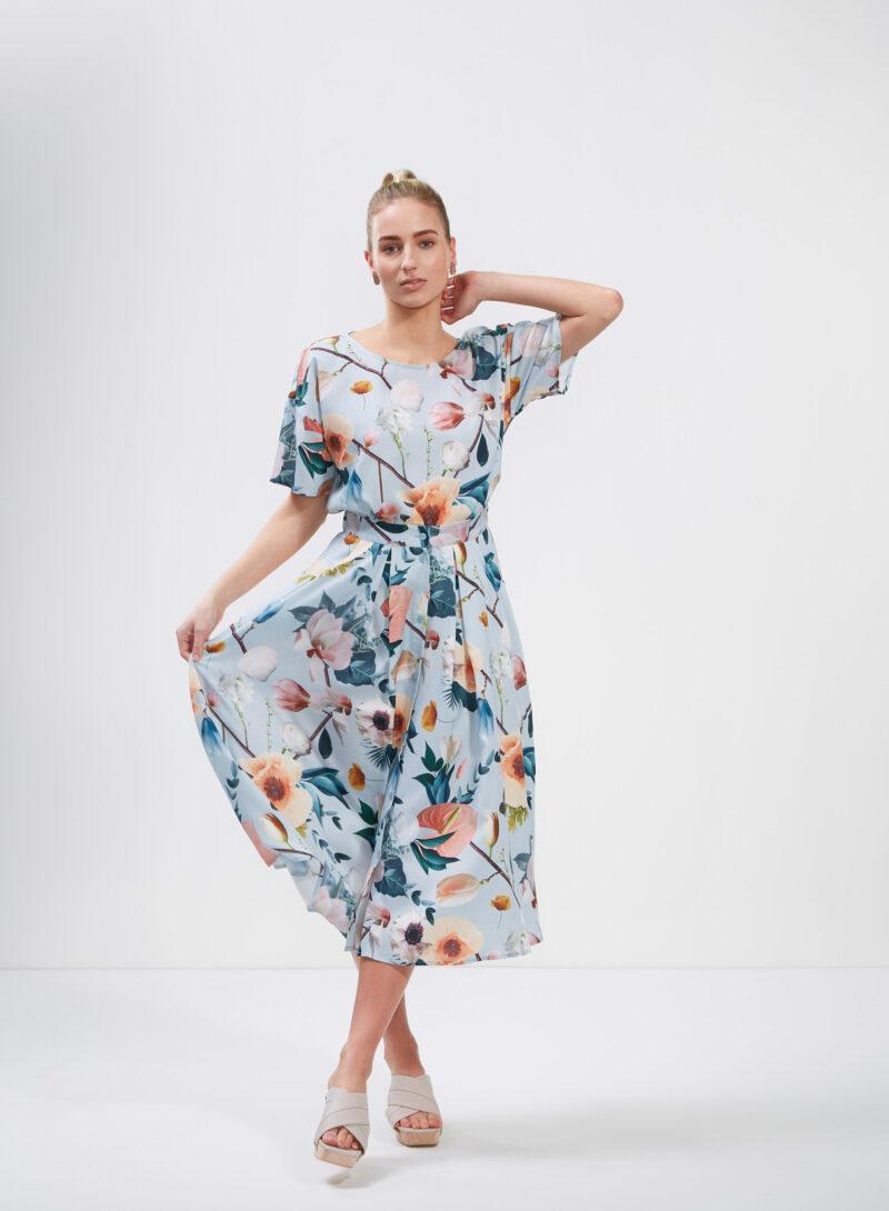 Uhana - Cotton Candy Skirt & Braver Shirt, Better Days Light Blue