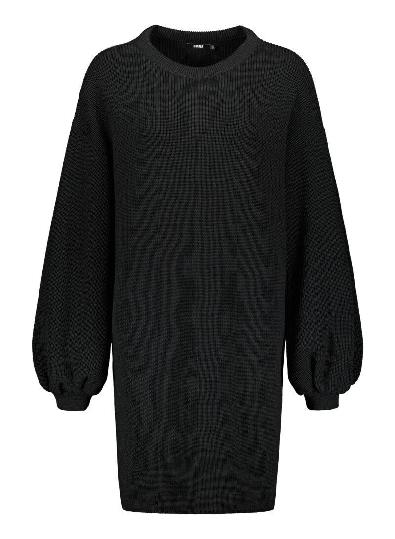Uhana - Flicker Knit Dress, Black