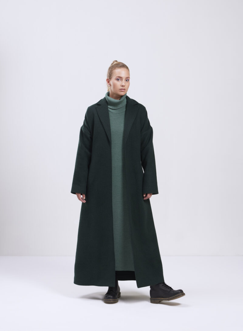 Uhana - Cherish Coat, Dark Green