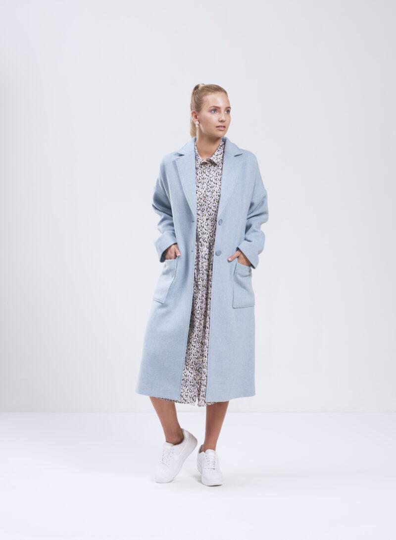 Uhana - Heartfelt Coat, Frost Blue